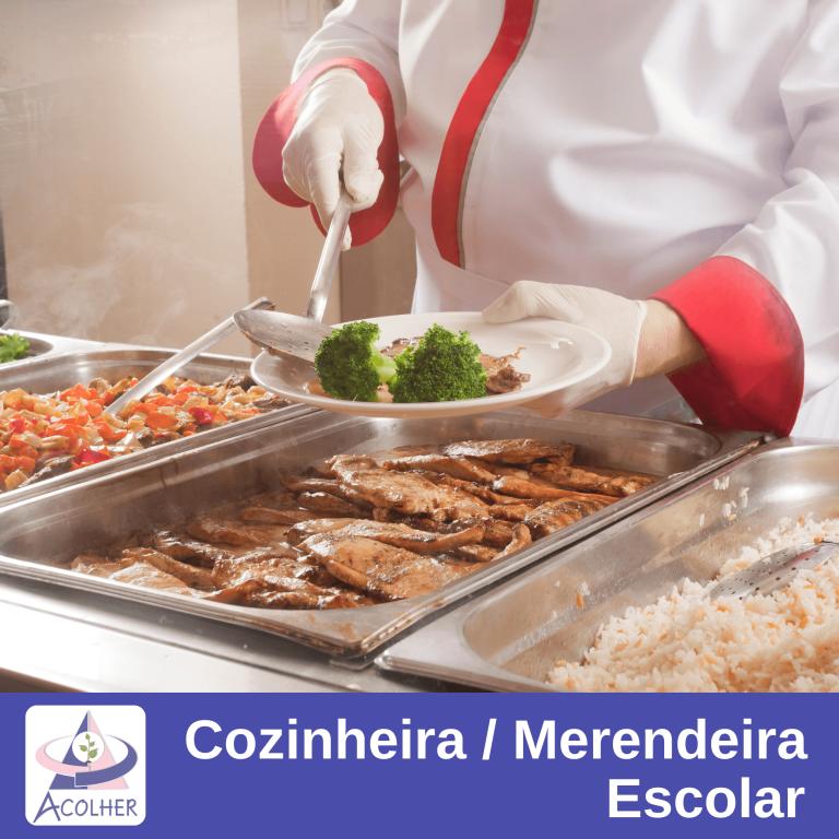 Curso Cozinheira Merendeira Escolar Acolher Instituto Guarulhos